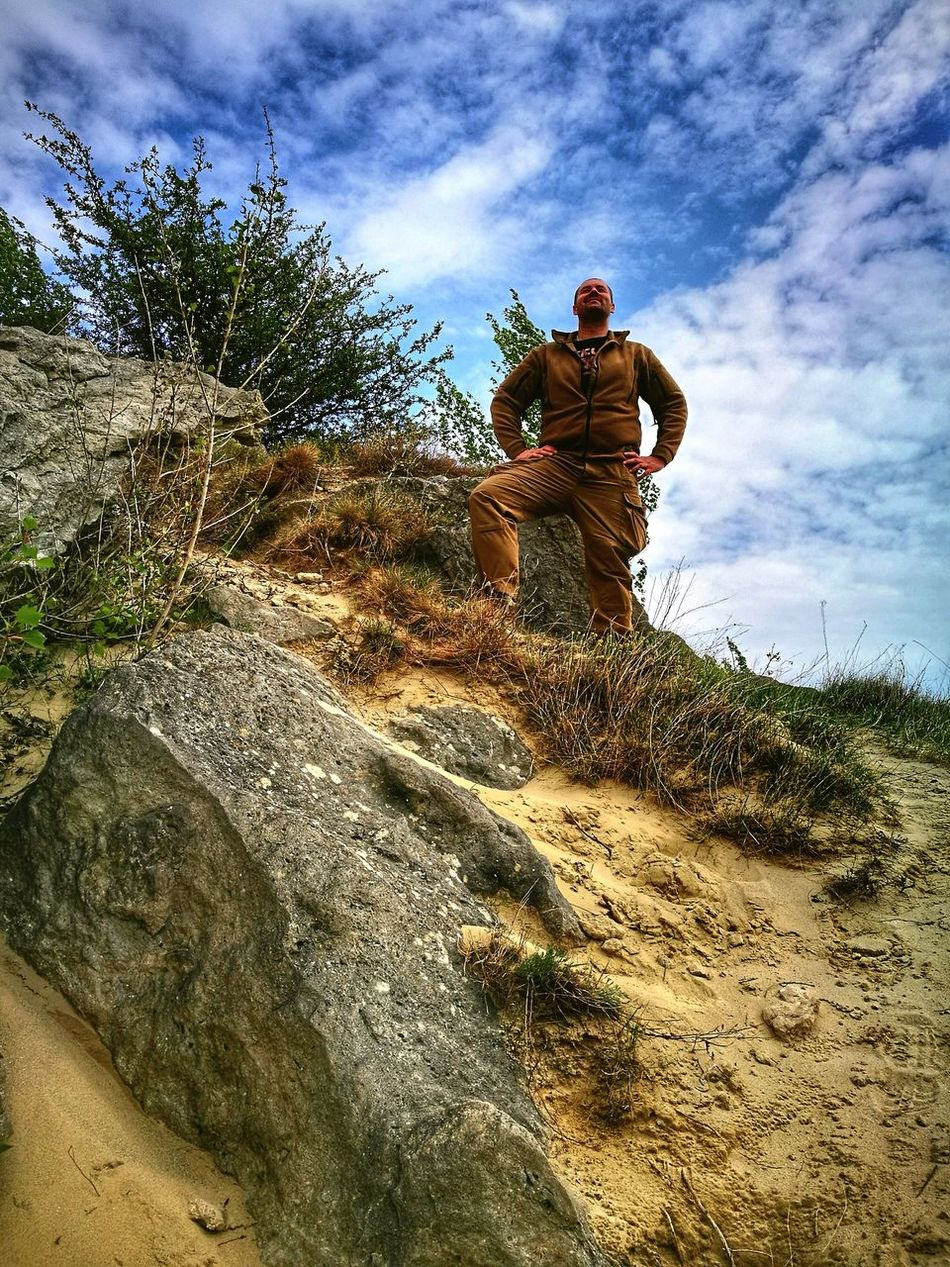 Only Men Outdoors One Man Only Manontherock Helikon