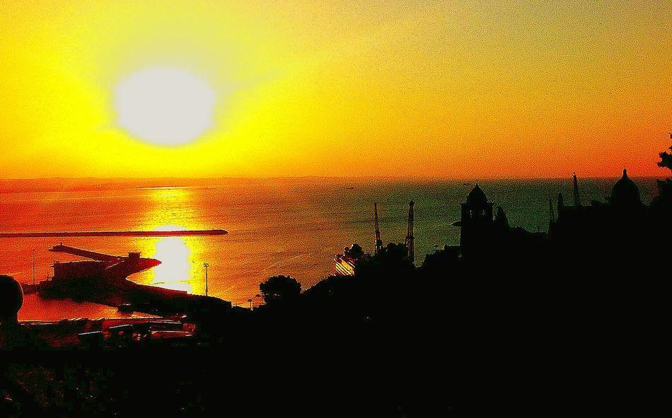 Sunset Silhouette Dramatic Sky First Eyeem Photo