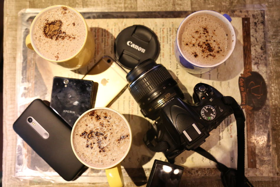 Everything In Its Place Hanging Out Coffee Time EyeEm Best Shots Eye4photography  Table Hanging Out With Friends The Mix Up