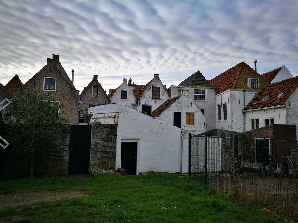 Rustic Style Building Exterior Architecture Cloud - Sky Sky Built Structure Rustic Rural Scene No People Architecture Dutch Dutch Landscapes Dutch Countyside Dutch House Dutch Architecture