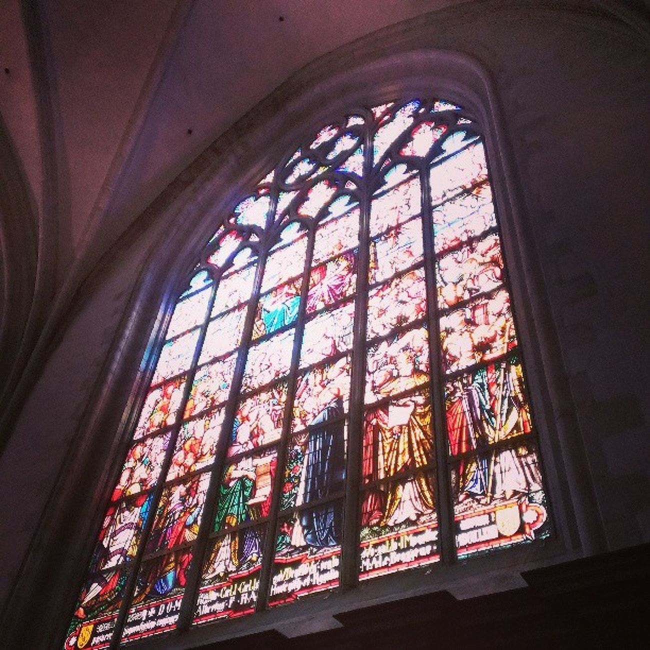 教会がもつパワー。教徒じゃなくても思わず拝みたくなる。Church Benelux Antewerpen