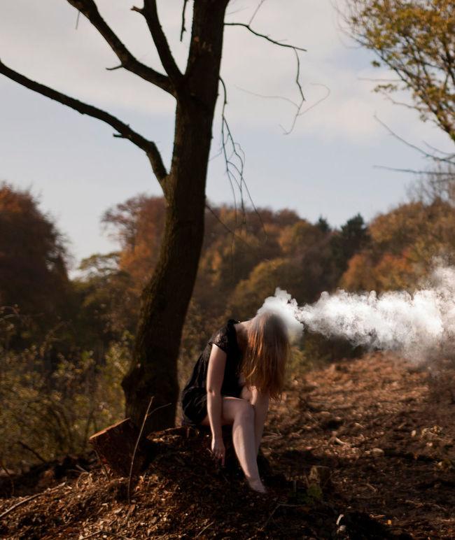 50mm Girl K.ram Kevin Ramolla Kram Kramolla Smoke Steam Surreal Surreal Art