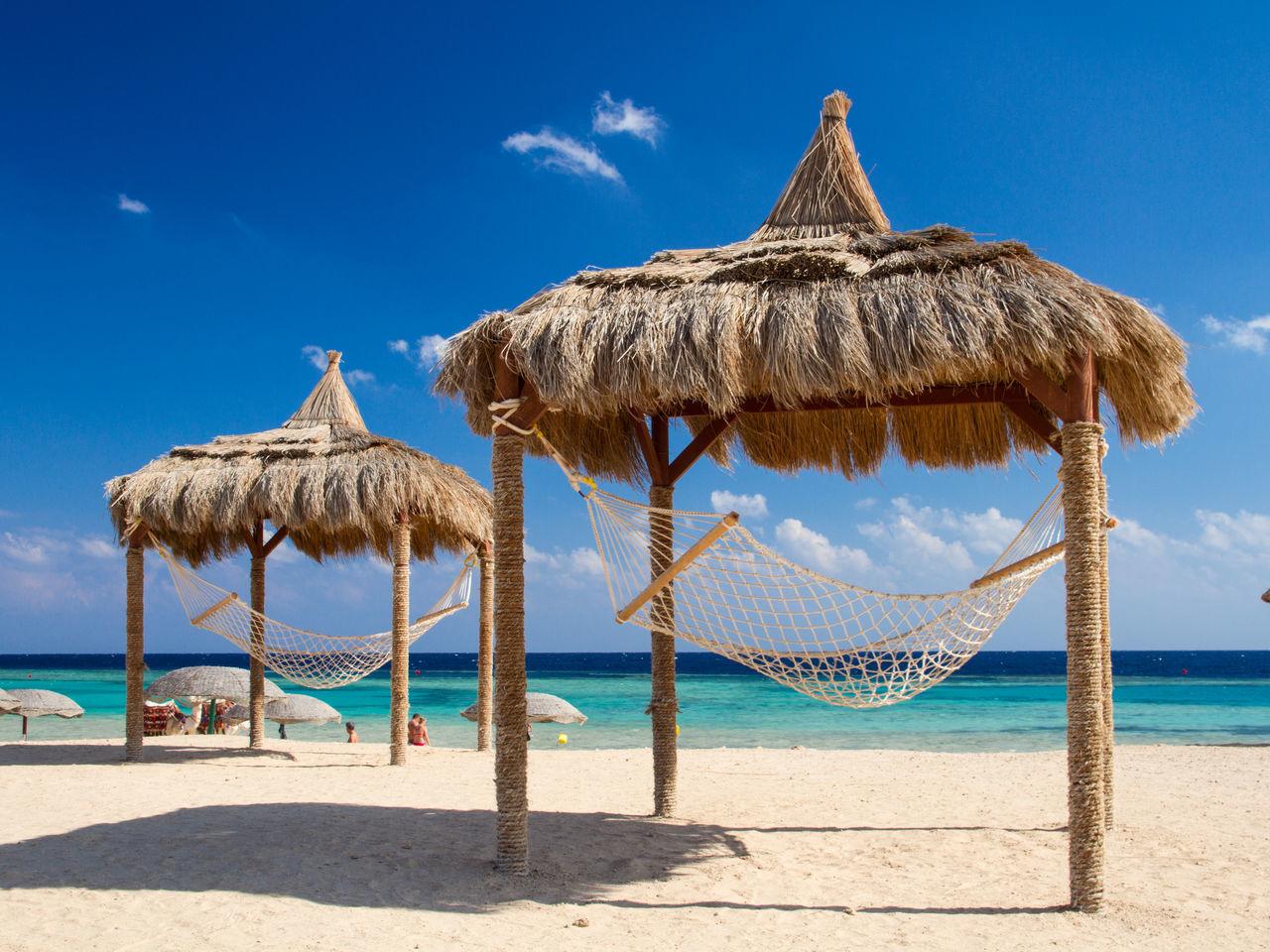 Beautiful stock photos of ägypten,  Beach,  Beach Umbrella,  Beauty In Nature,  Blue