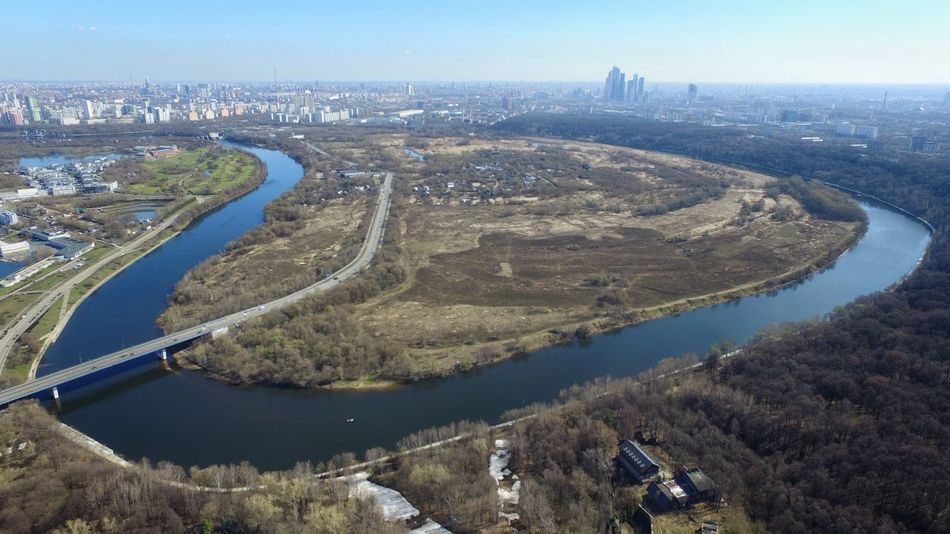Moscow view from 700 feet Moscow Moscow City Russia Heights River Spring Showcase April Landscape City Landscape Moscow Landscape River Curves Bridge Scenery Horizon Over Land Horizon Aerial Shot City From Air Aerial Photography Aerial View Aerialphotography The Great Outdoors With Adobe Flying High