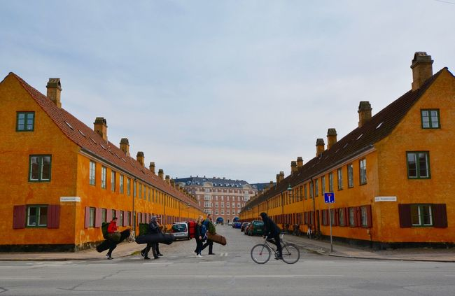 The Journey Is The Destination Copenhagen Denmark Traveling Travel Travel Photography Travel Destinations People Walking  People Cycling Nyboder