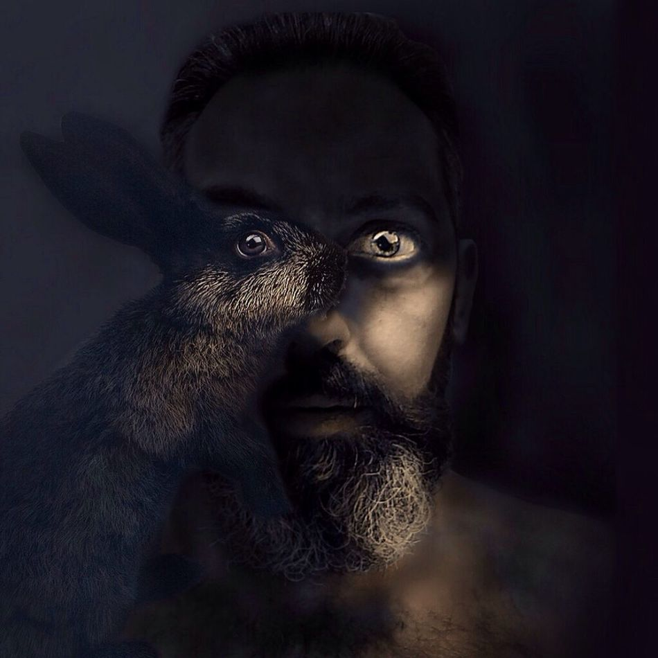 Dark rabbit Bnwlife EyeEm Portrait My Light EyeEm Best Shots Escape Of The Dark Dimension Selfportrait Dark Rabbit Madrid My Noir Life Newstyles Taking Photos Hanging Out That's Me Shadow-art Eyem Best Shots