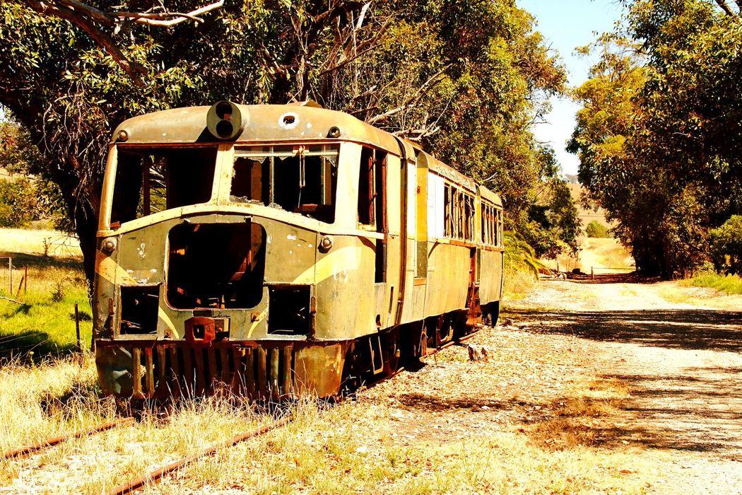 On my way .. Train Trainphotography Trains_worldwide Train Rail Rusty Old Machine Rusty Rusty Things Railway Railtrail Australia Old Train Old Trains Outdoors Outdoor Photography Railtrails Nostalgic  Nostalgic Look Nostalgic Train Old Machines On The Way
