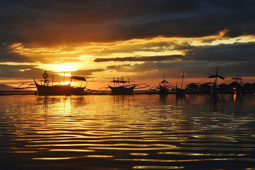 sun set at manuel uy Sunset Sea Cloud - Sky Beach Travel Destinations