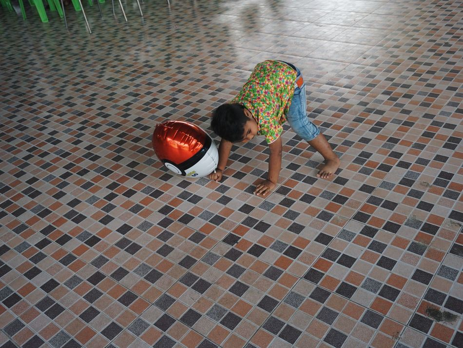 Childhood Children People One Person Day Thailand
