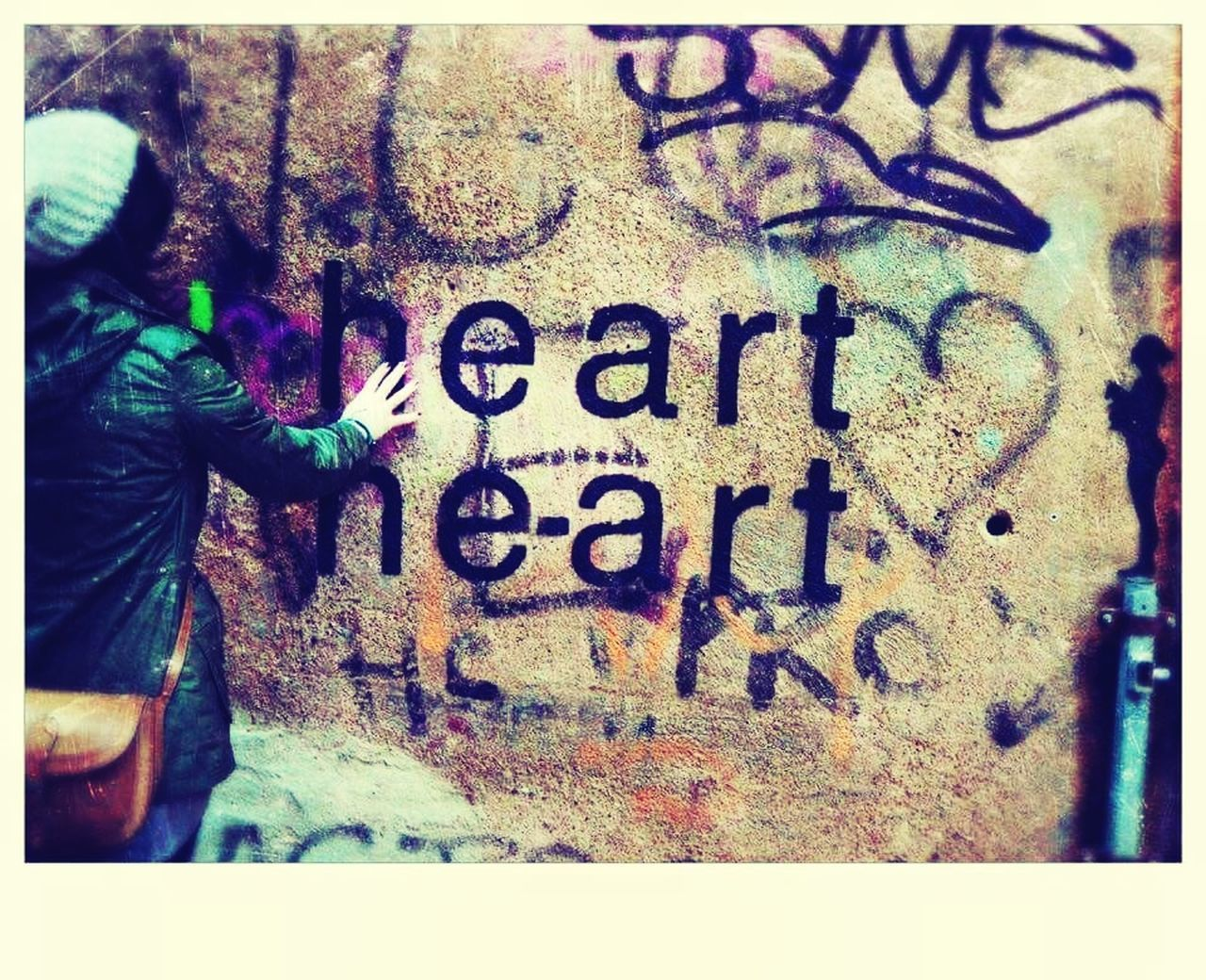 Heart Graffiti He Art Wall Art Me Cagliari Urban City Cagliari, Sardinia