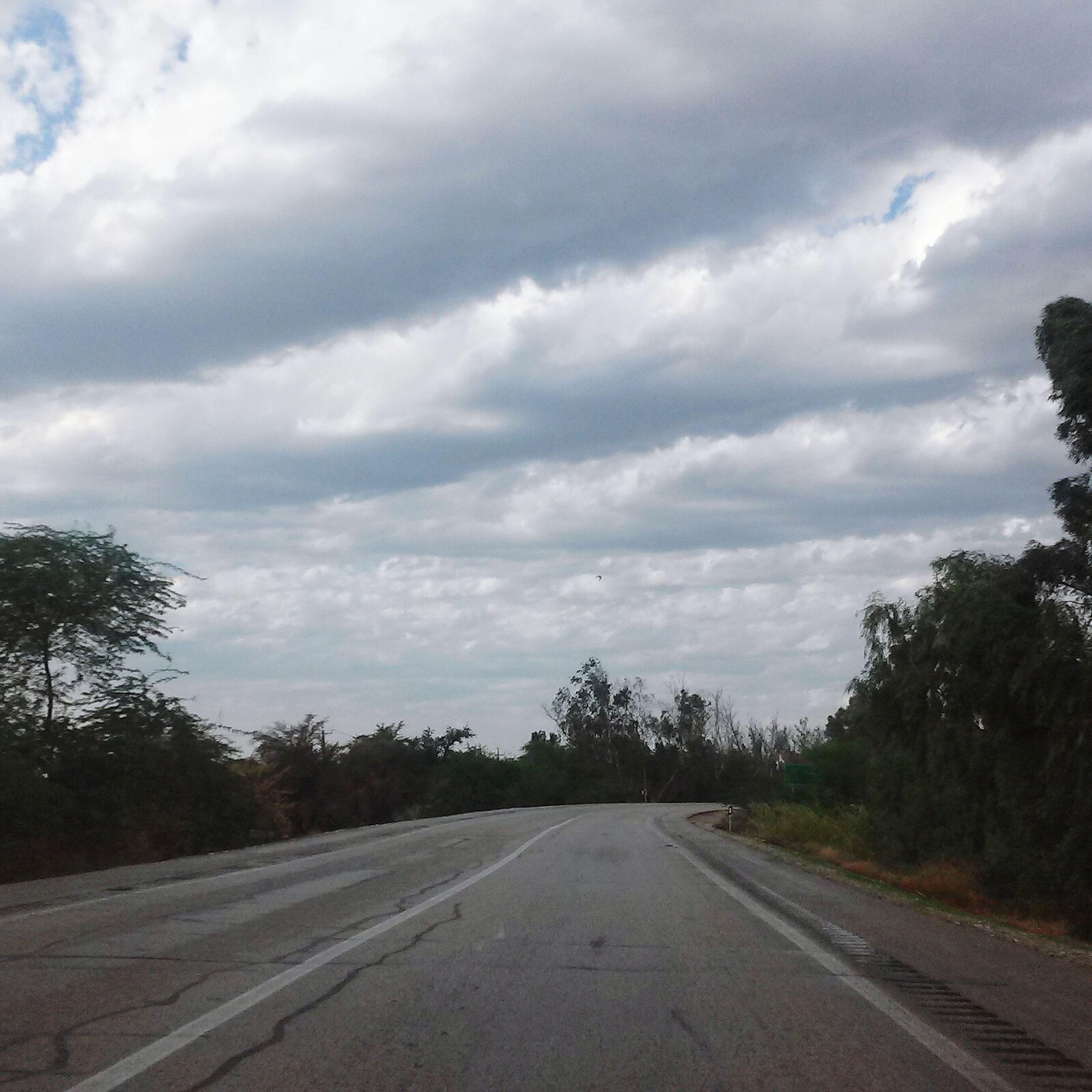 Q Driving, Ominous Sky First Eyeem Photo