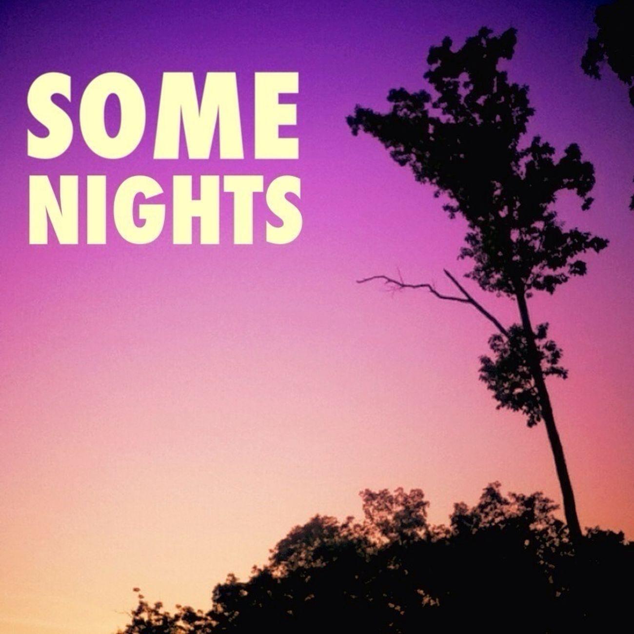 Sunset Purple Some Nights