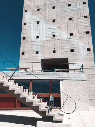 Architecture Built Structure Outdoors No People Marseille Le Corbusier Brutalism