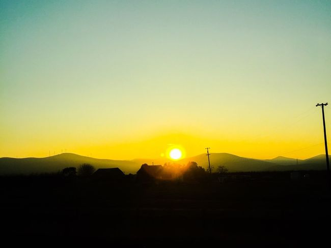 In the middle of nowhere! EyeEm Eye4photography  Sunset Country Sky Middle Of Nowhere First Eyeem Photo Follow Me