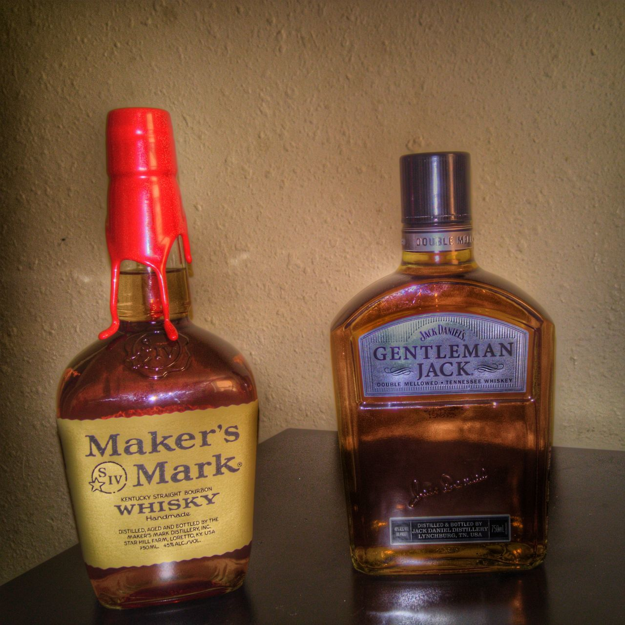 Just Chillin' Whiskey Bourbon Whiskey Brown Gentlemanjack Makers Mark Showcase: February