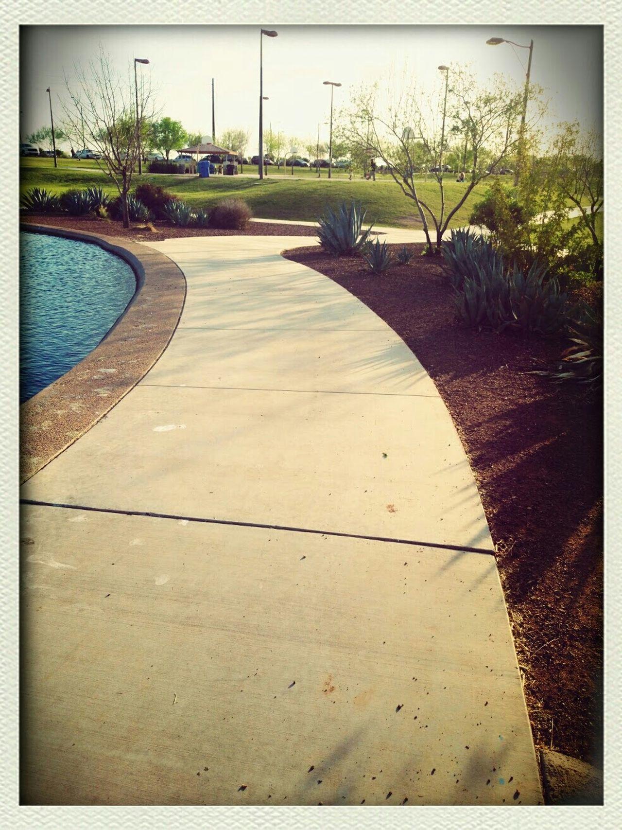 Beautiful Day Maricopa County AZ Gilbert Discoverypark Discovery Distict Park Discovery Park Water Reflections Places