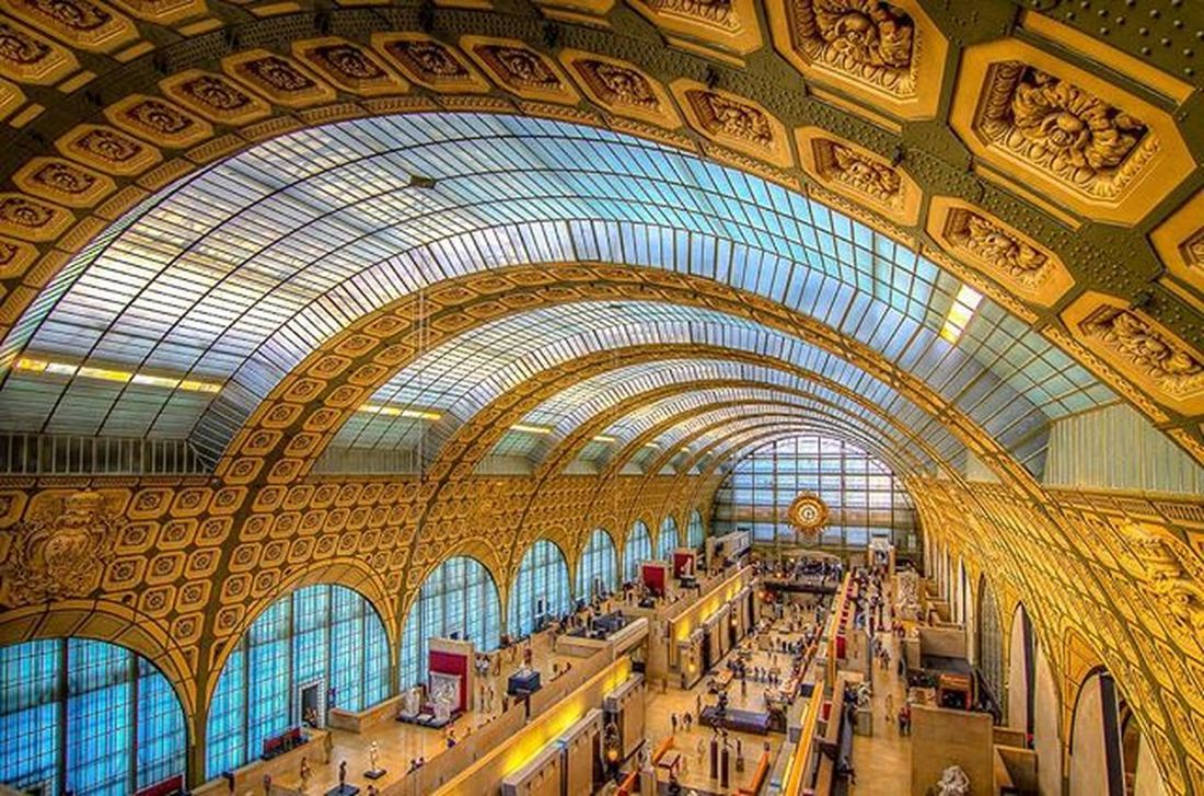 Inside the Musee d'Orsay in Paris. Ig_europe Parisjetaime Parismonamour Topparisphoto Igersparis Igparis Igersfrance Igfrance Instaparis Parismaville Parisphoto Travelgram Seetheworld  Traveltheworld Instatravel Tv_travel Traveldeeper Passionpassport Bestplaces_togo Igworldclub Ig_worldclub Exploringtheglobe Lonelyplanet Theglobewanderer Loves_architecture rsa_architecture architectureporn archilovers arkiromantix tv_buildings