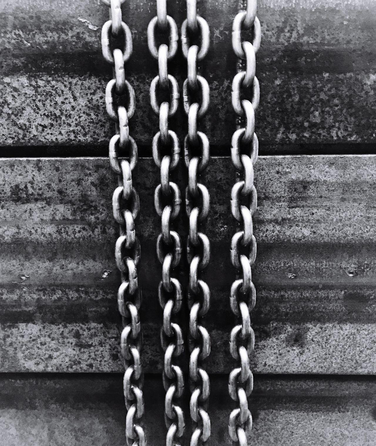 Steel Structure  Chain Metal Close-up Day Outdoors No People Hanging Construction Engineering