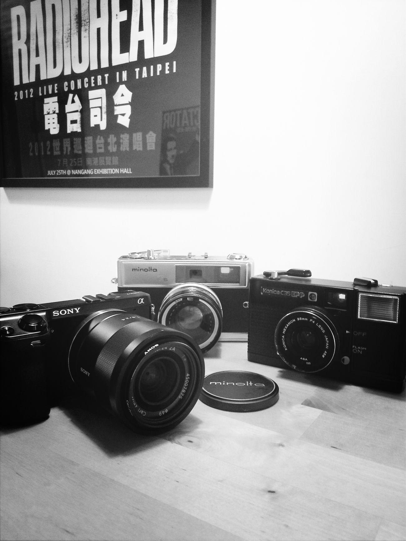 Three generations 三代同堂 Coffee Konica Minolta Sony NEX