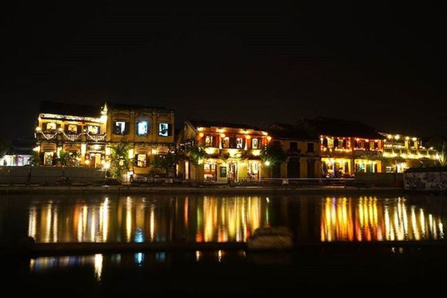 Vietnam's most magical city, Hoi an. A world heritage site. Illuminated at night with French, Chinese Dutch and Japanese structures. This place is truly magical. A must go place in south east Asia Hoian  Vietnam Mustgo