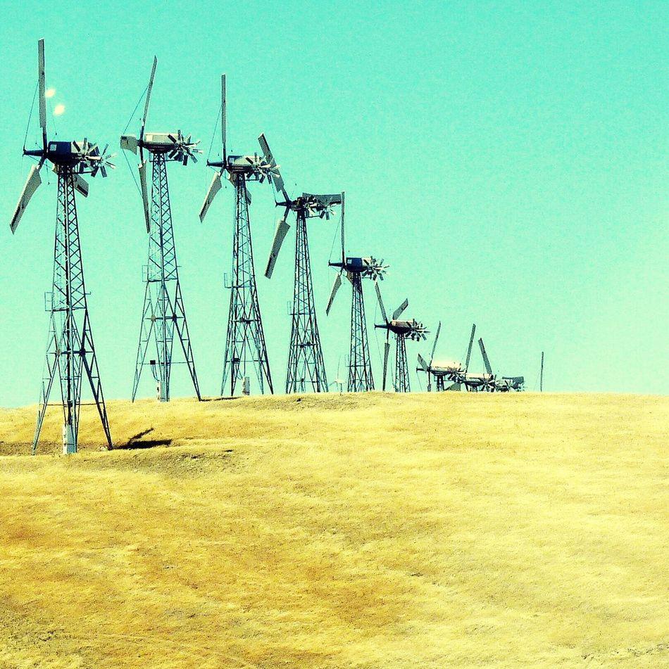 San Francisco Eolienne Landscape Sinusoïdal