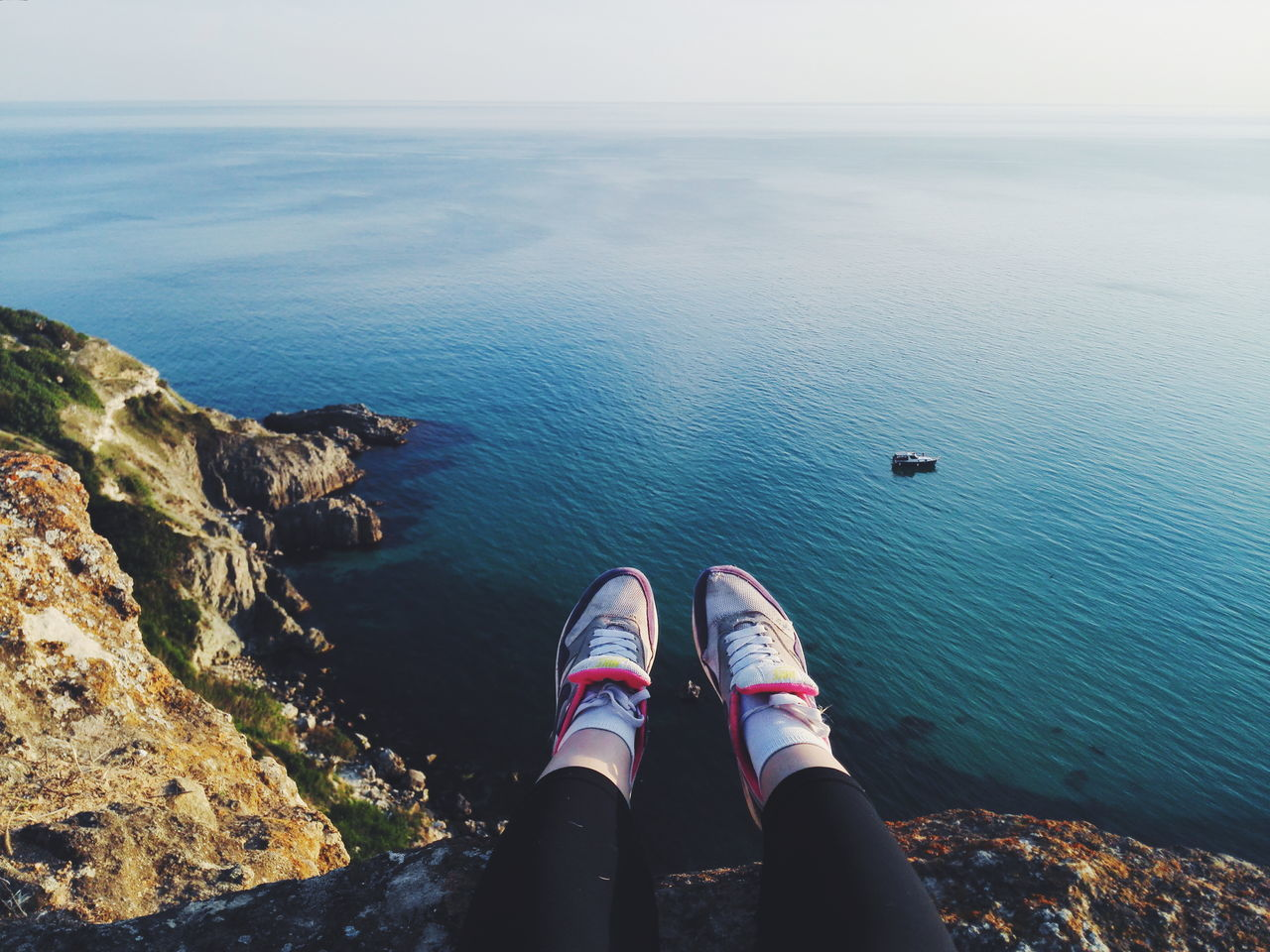 Human Leg Sea Water Human Body Part Shoe Foot One Person Tourism Outdoors Adult Leg Horizon Over Water Beauty In Nature Nature Huawei Honor6 Huawei Honor 6 Russia Sevastopol  Sevastopol' Севастополь Cremea Nature Beauty In Nature Landscape