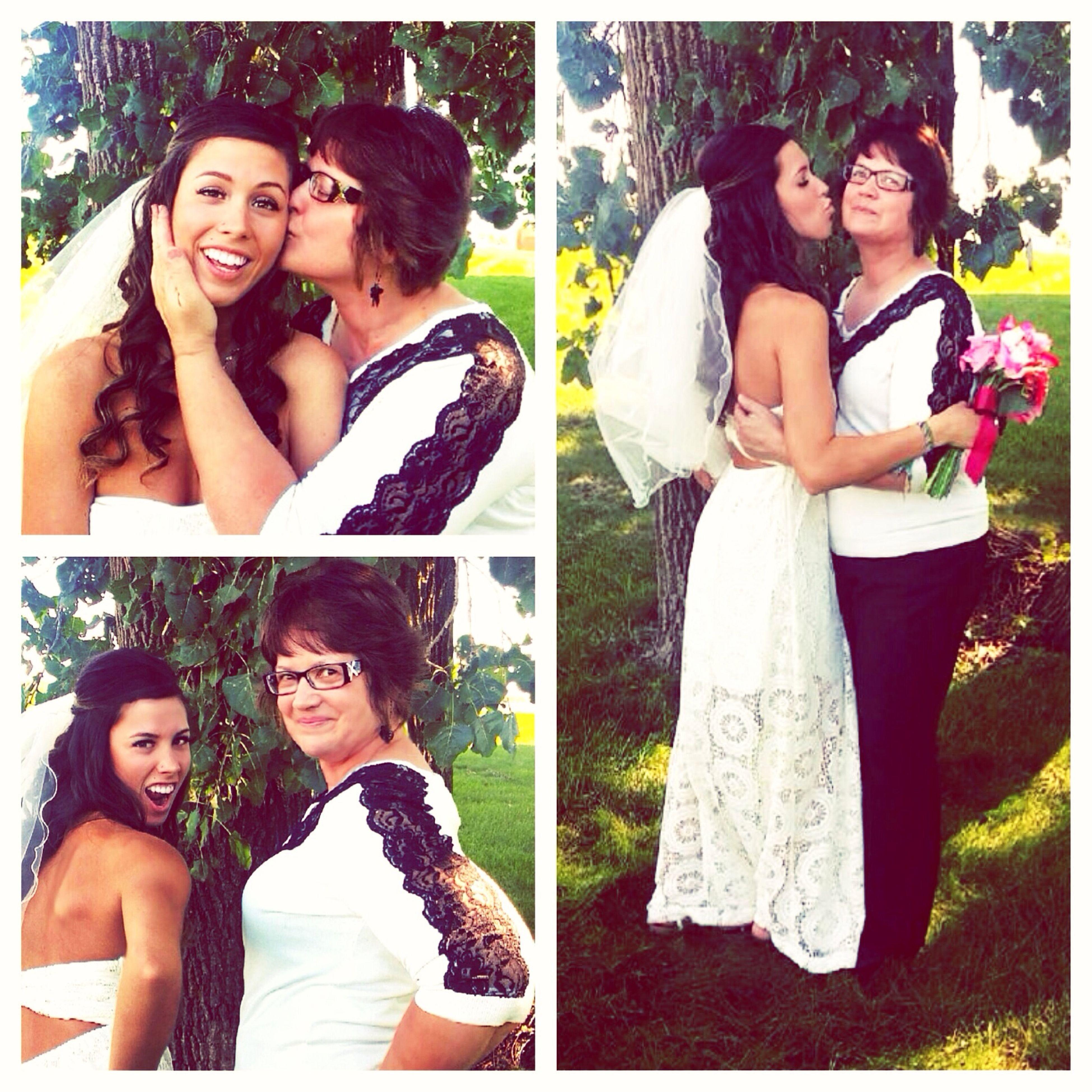 Wedding love with mama bear Wedding Motheranddaughter Mom