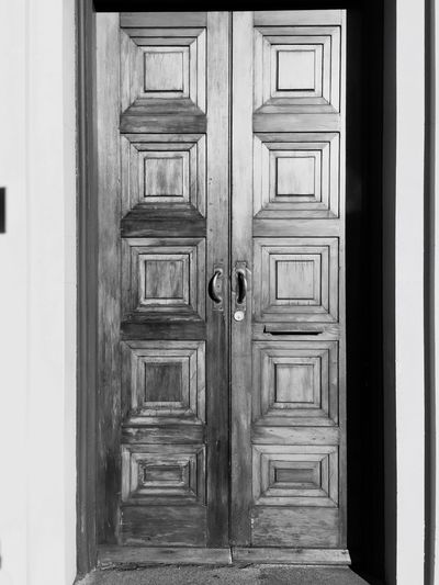 Door Closed Wood - Material Entrance Safety Protection Entry Doorway No People Built Structure Architecture Outdoors Day Close-up