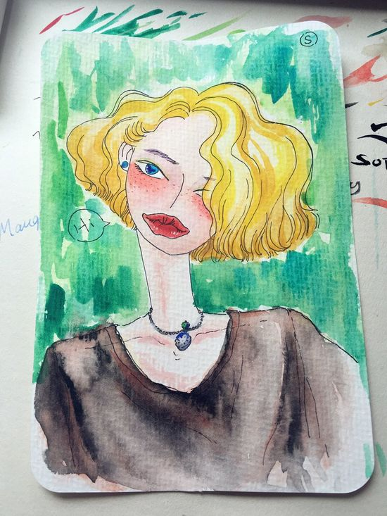 Drawing Watercolor ChineseArt Watercolor Painting Art Sophiesart ThatsMe