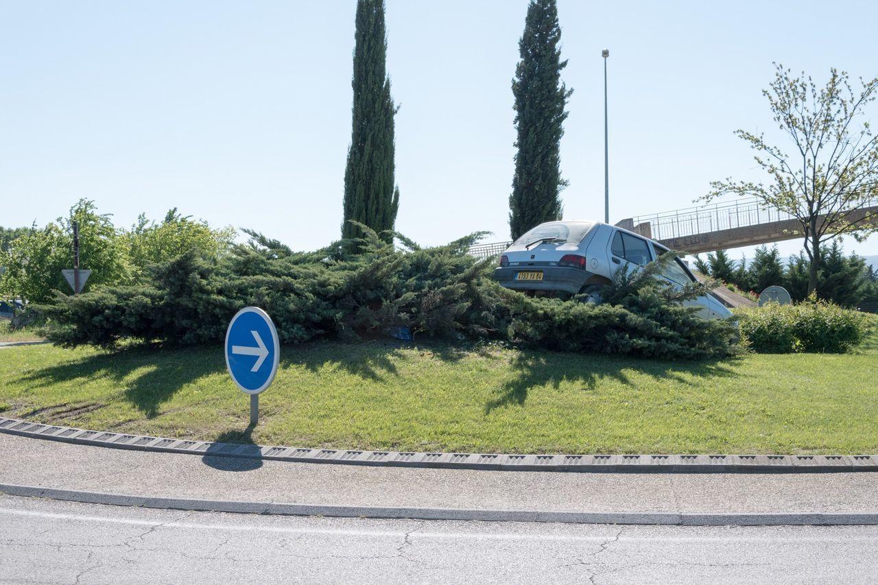 Accident Road Sign Alcool  LuminoCapture