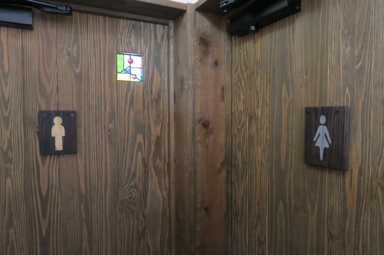 Information Sign Wood - Material Restroom Sign Communication No People Indoors  Day 佐賀市 Saga,Japan