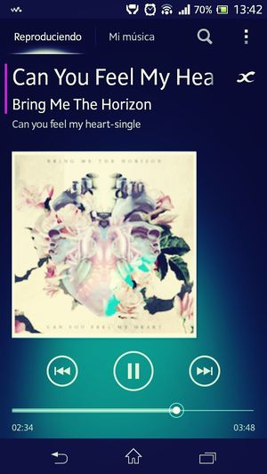 I'm scared to get close and I hate being alone. I long for that feeling to not feel at all Bring Me The Horizon Music Likethis Kms