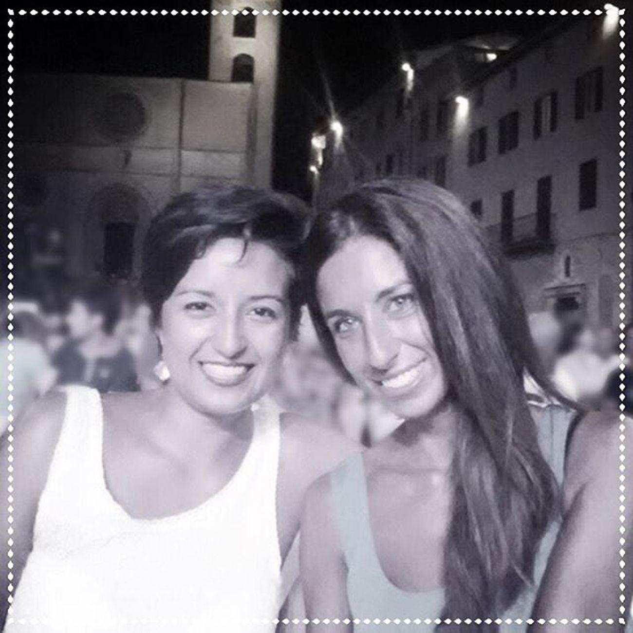 """💁🏽🙆🏽⏳⌛️1⃣5⃣ years of friendship Piazza del Popolo *Todi* // spettacolo di Enrico Brignano """"Evolushow 2.0"""" 07/08/2015 Con la mia 👸🏽 @la_president_ *** Amiche Todi  Instagood Umbria friends italy summer perugia love girls fridaynight italia igers summer2015 photooftheday gorgeousgirls enricobrignano summertime selfie friendship friendsforever happy brignanoshow evolushow teatro risate ig_umbria igersitalia igersumbria igerstodi"""