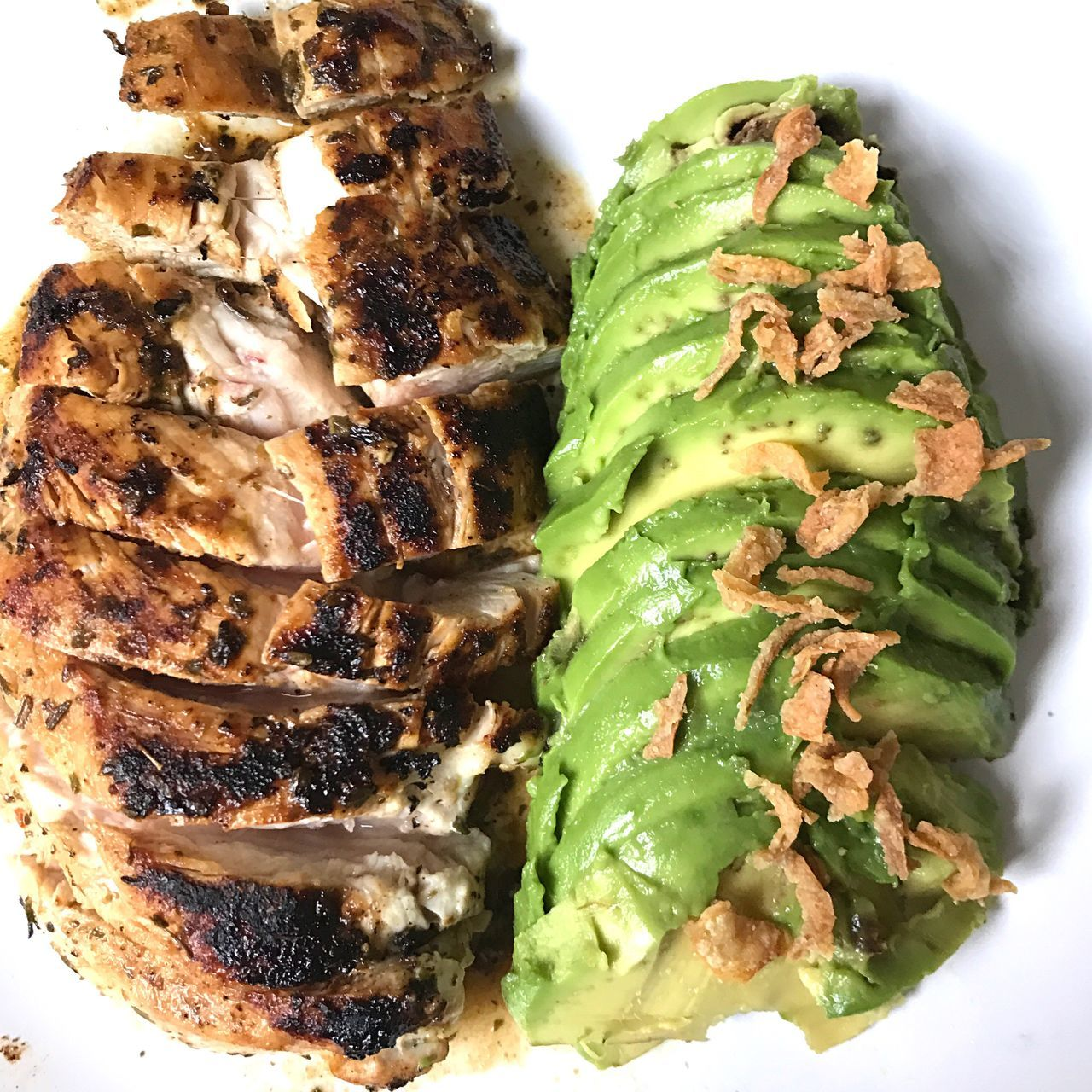 Healthy eating Food Freshness Ready-to-eat Green Color Day Avocado Chicken Healthy Eating