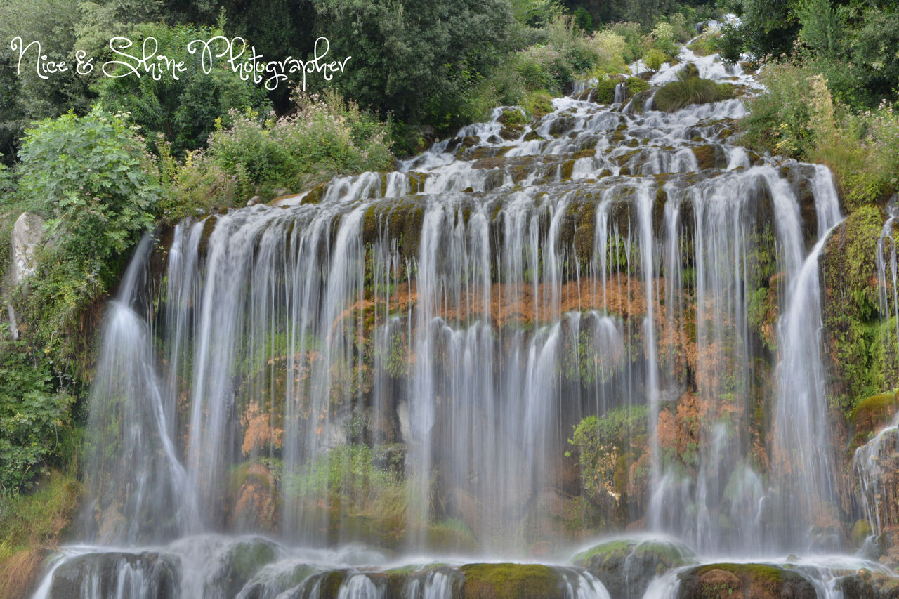 waterfall, motion, water, nature, plant, scenics, tree, no people, outdoors, beauty in nature, long exposure, day, forest