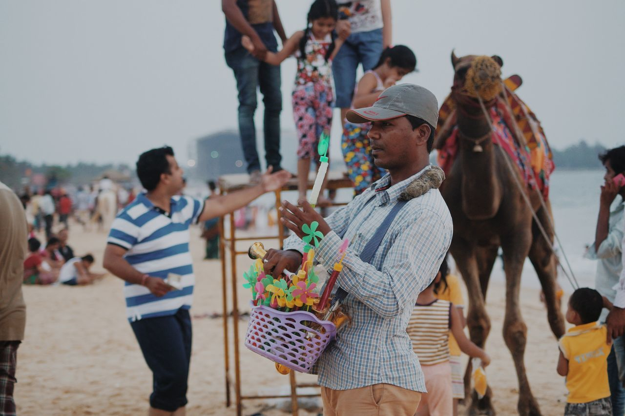Traditional Clothing Fun Adult People Men Lifestyles Motion Boys Outdoors Togetherness Water Streetphotography Camel Riding Beach The Street Photographer - 2017 EyeEm Awards