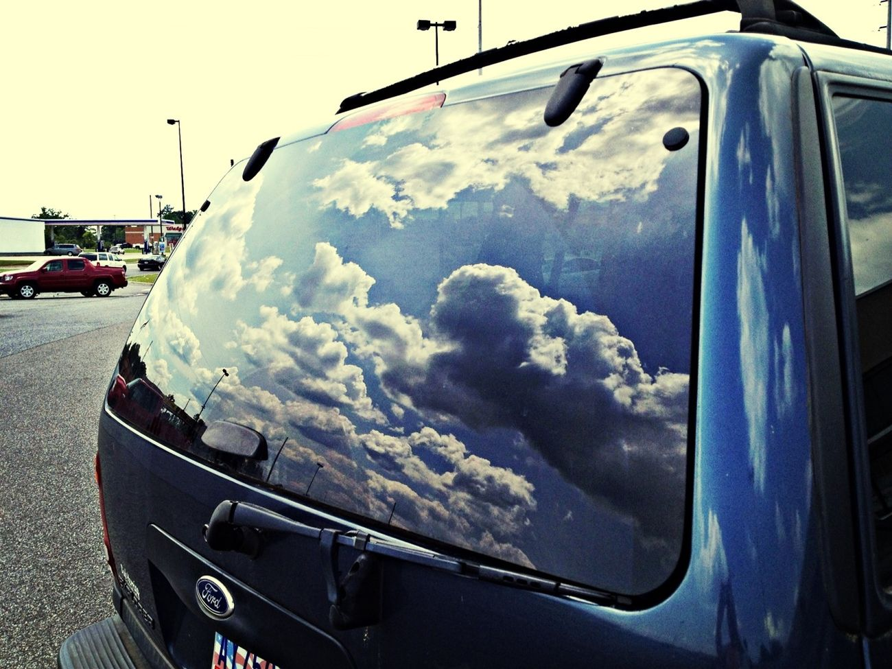 Streetphotography Blue Sky Cloudporn Reflections ☀