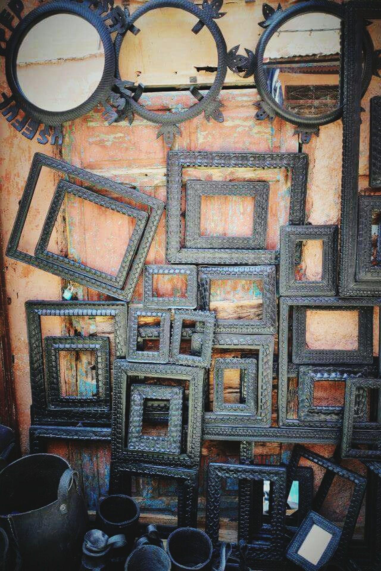 Souks Marrakech Mirror Picture