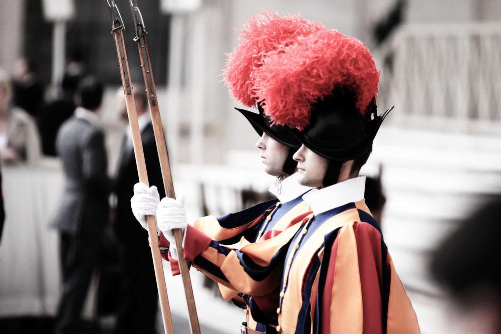 Swiss Guards © José Caetano Guards Pope Rome Swiss Swiss Guard Vatican Vatican City