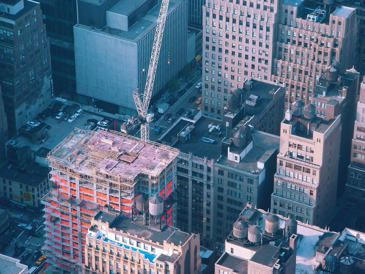 New York Skyscrapers Construction USA