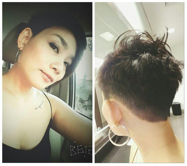 Fresh new cut... New Hair Cut I Love It ❤ Taking Photo Pixie Cut Style Short Hair Don't Care