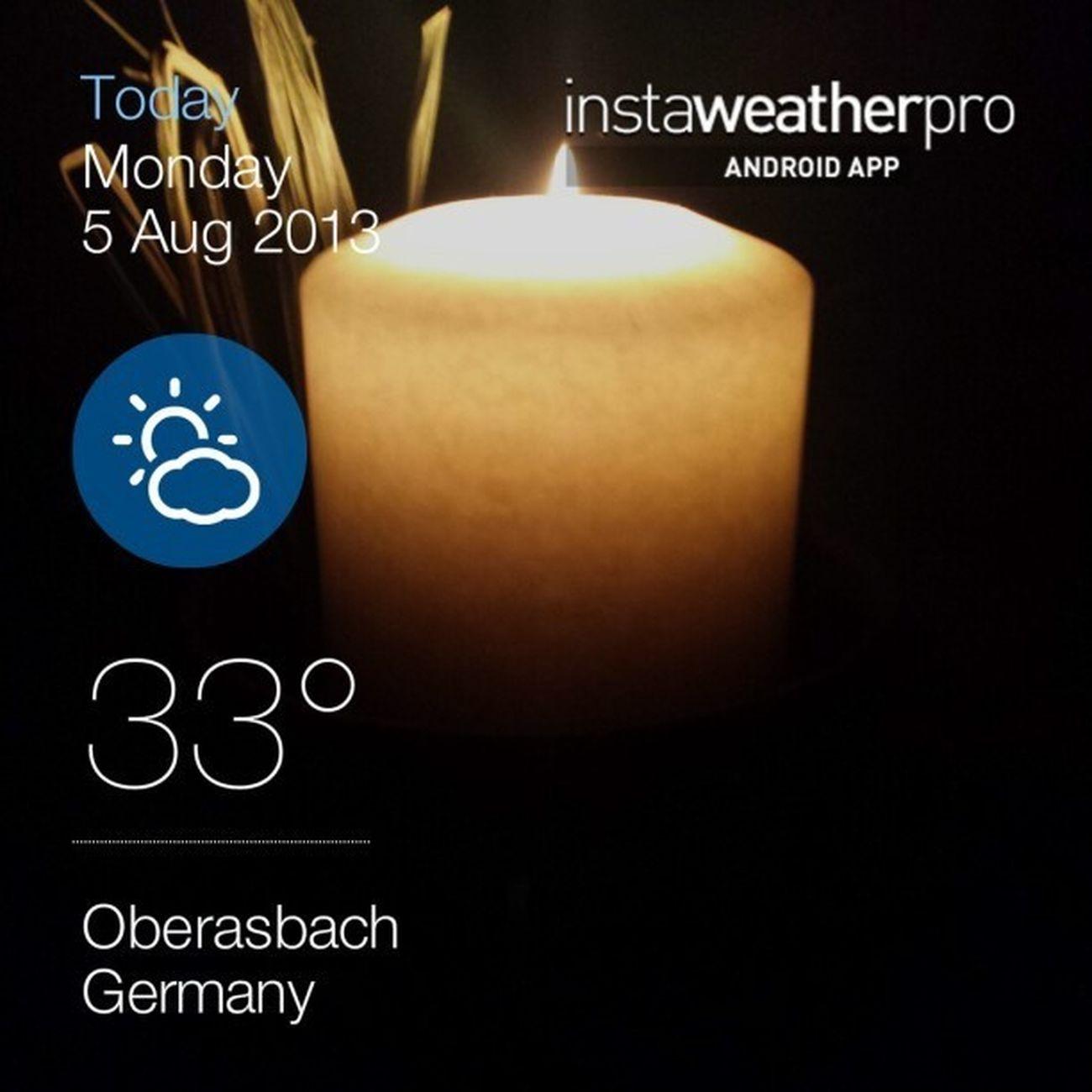 Still warm....