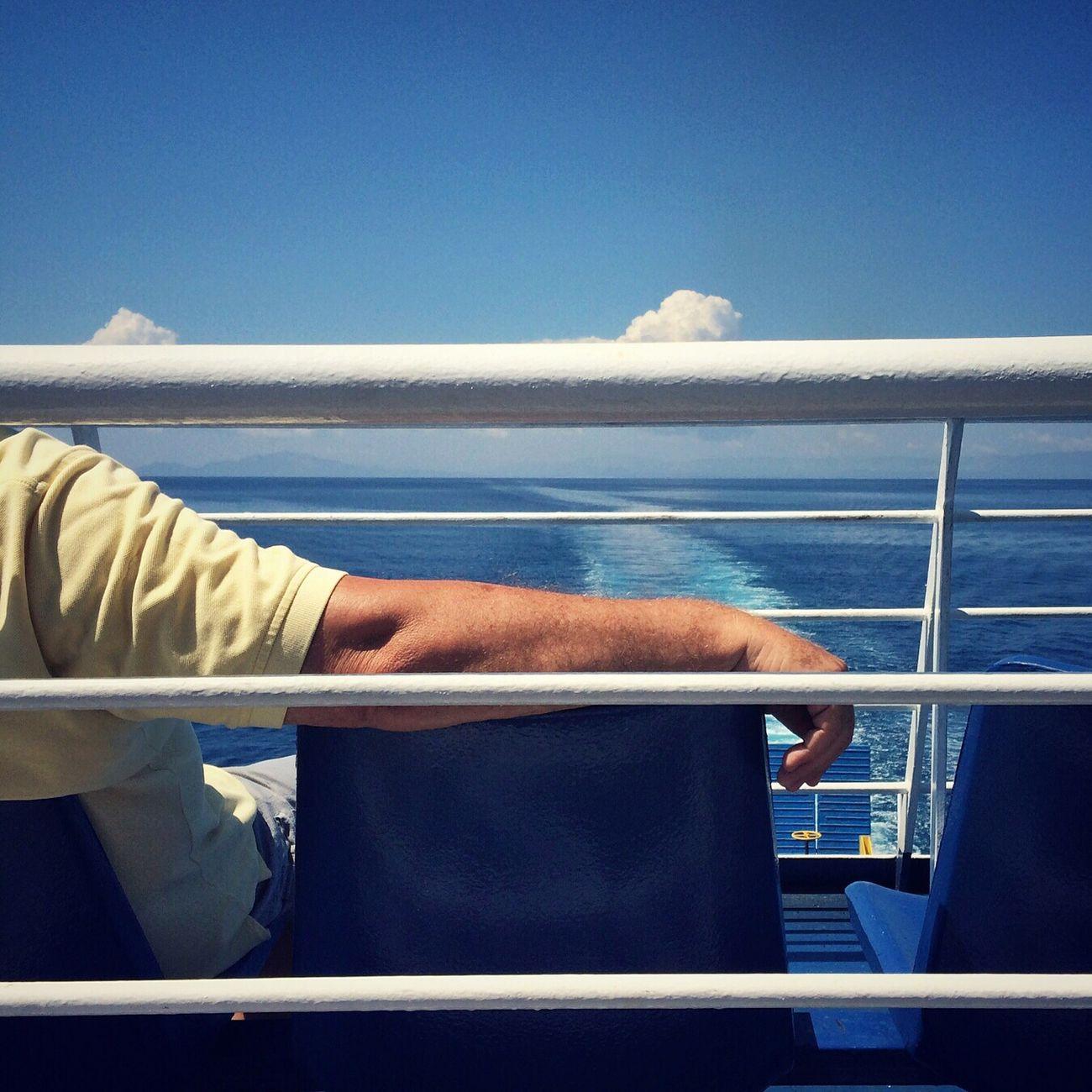 Blue Ferry Summer