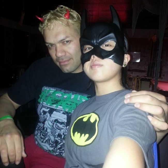 @lis_andro and I Homos LOL