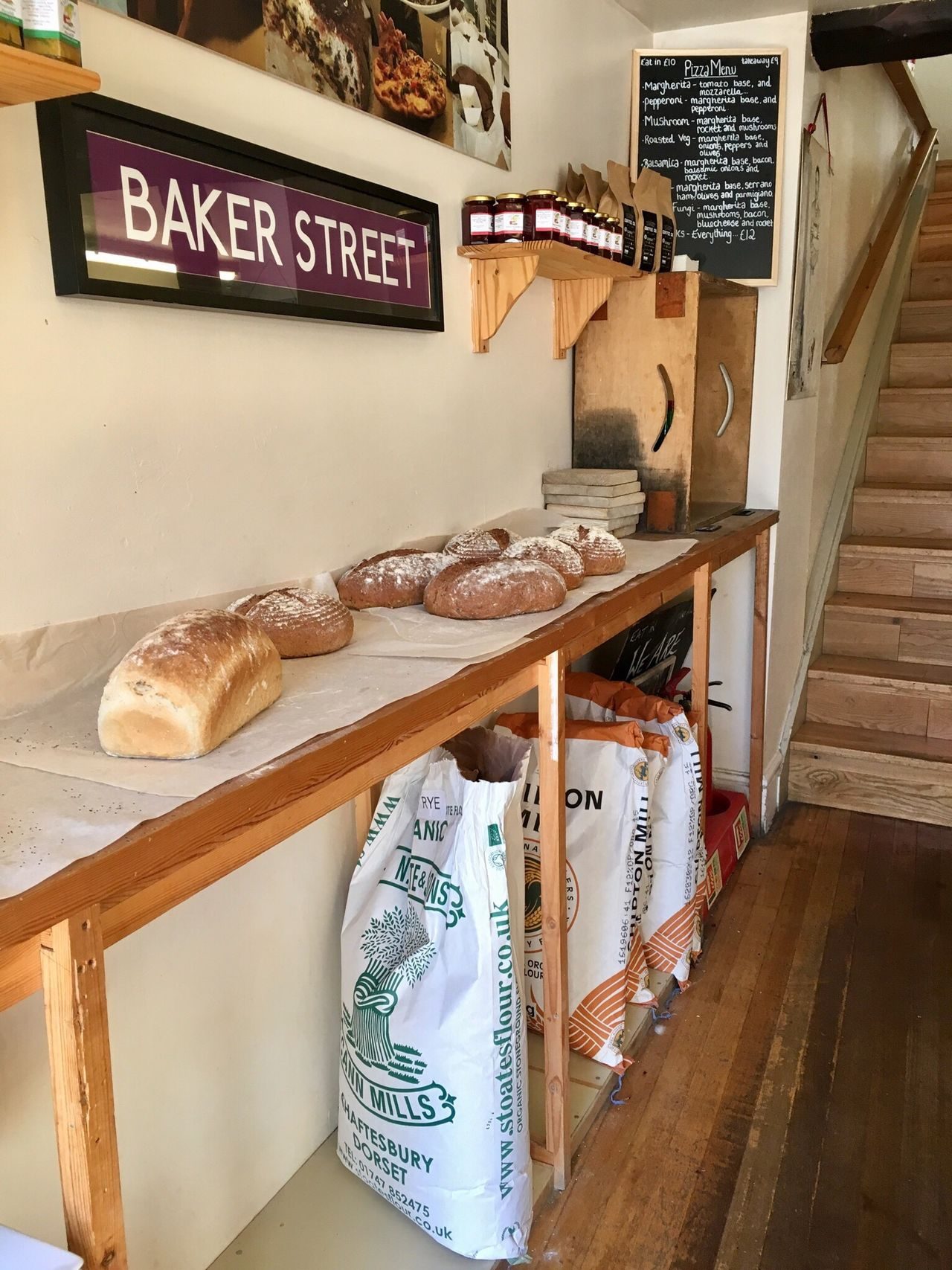 Baker Indoors  Text Food No People Table Price Tag Day Bread Baker Freshly Baked