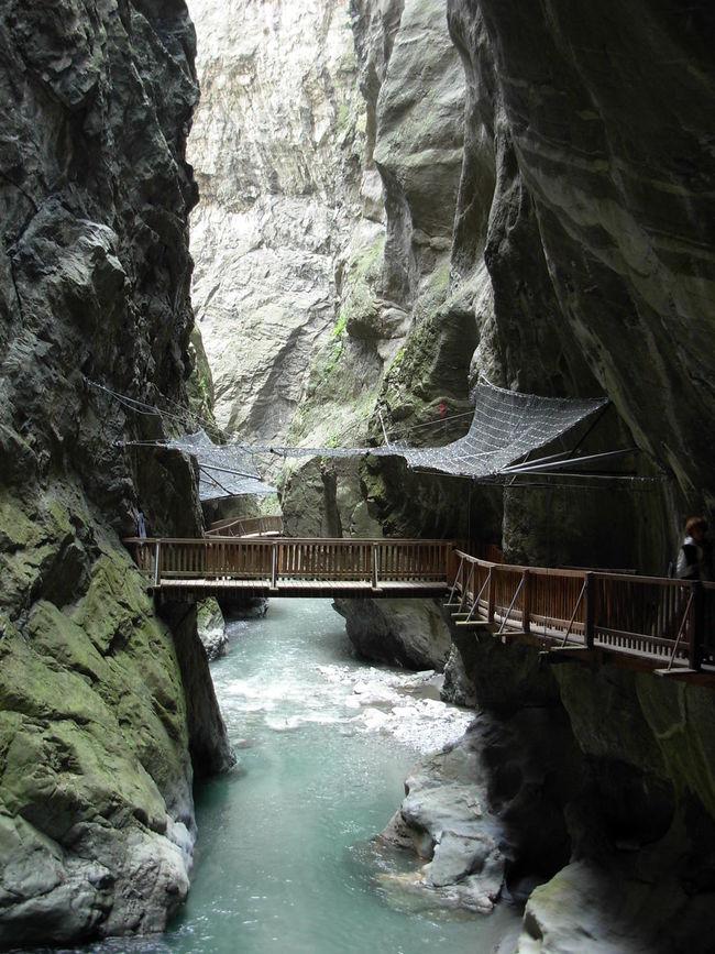 Gorges Du Trient Vernayaz Suisse  Suiça