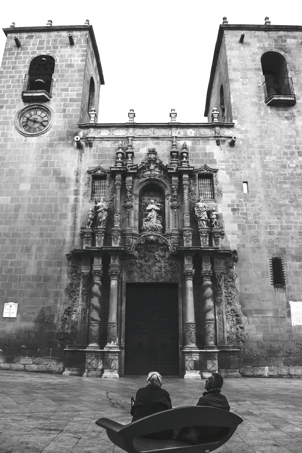 Bells CHURCHILL Churchills Churchillcollege Blackandwhite Blach&white Blackandwhite Photography EyeEm Best Shots Alicante Alicante, Spain SPAIN Religion Religious Art Religious Architecture Religious Icons Columns Door Antique Watch Place Of Interest Basilica De Santa Maria Churchill Downs Column Arquitecture ArquiteturaeUrbanismo Antique Building