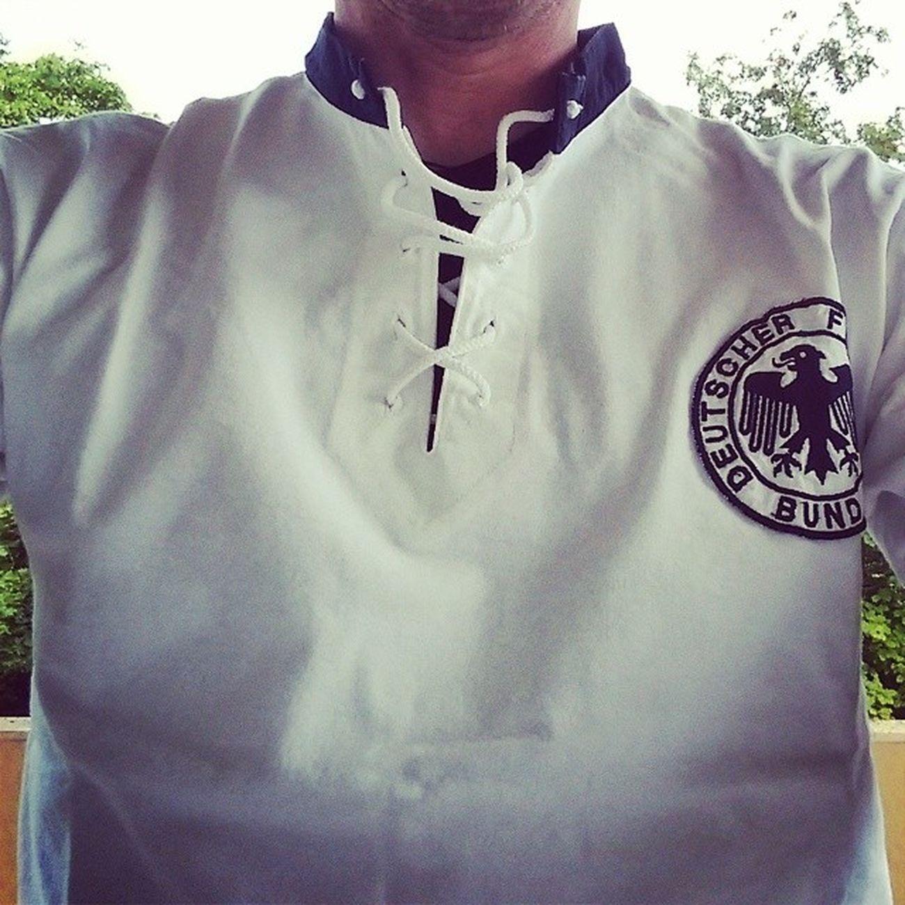 """Wenn nicht heute, wann dann? Das """"Wunder von Bern"""" Shirt für Ger vs. Fra . 60Jahre AneurerSeite BereitWieNie FRAGER WorldCup2014"""