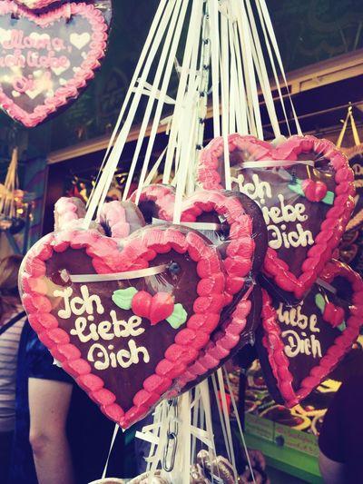Herzen 💕 Gingerbread Hearts♡hearts Crangerkirmes Heart Shape