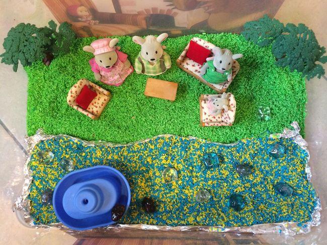 ТН Семья, наша коробочка с семейством мышей Сенсорная коробка развивашки тематическая неделя Family
